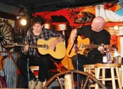 42nd & Nelson aka Long Island NSAI songwriters, Pete Colombo and Steve Farella have been writing together and pitching their songs in Nashville since 1999.