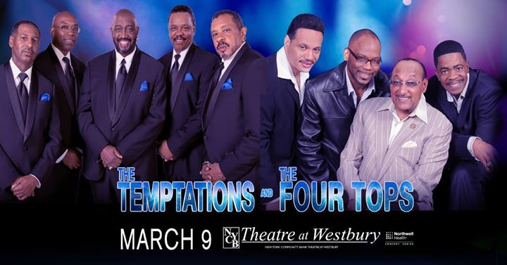 The Temptations & the Four Tops | Live Music | Long Island